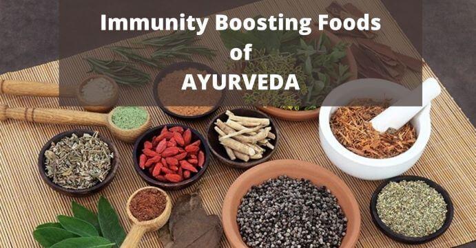 immunity boosting foods of Ayurveda